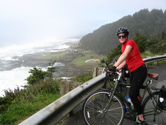 Views by bike